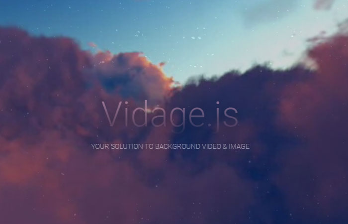 Fullscreen HTML5 Video Background