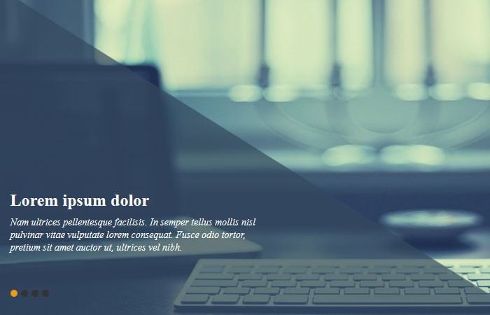 Pure CSS3 Slider with animation