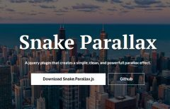 jQuery Parallax Scrolling Background Image