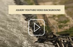 Youtube Video Background with jQuery Plugin