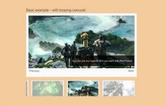 jQuery Responsive Image Gallery with Thumbnails