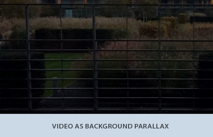 Video Parallax Effect