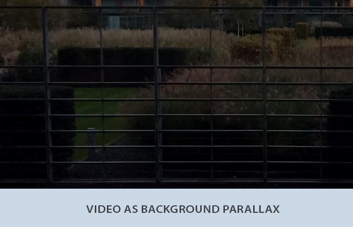 Video Parallax Effect