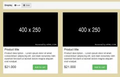 List/Grid View Switcher with jQuery