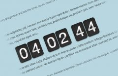 jQuery Countdown Timer with Minutes & Seconds