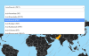 jQuery Timezone Picker with World Map